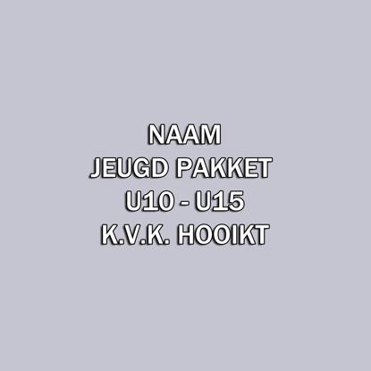 Afbeeldingen van Naam - JEUGD Pakket U10 - U15