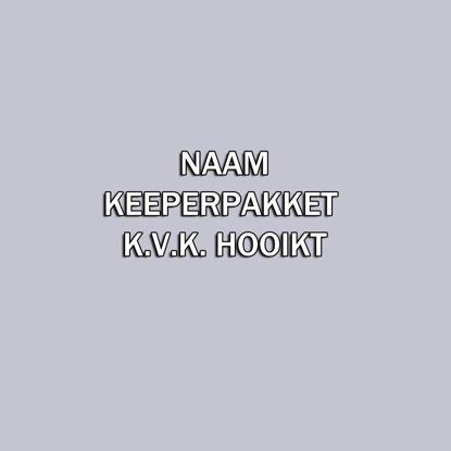 Afbeeldingen van Naam - KEEPER pakket